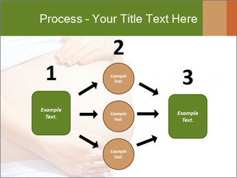 Woman With Big Pregnant Belly PowerPoint Templates - Slide 92