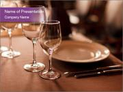 Restaurant Table PowerPoint Templates