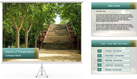 Urban Green Park PowerPoint Template