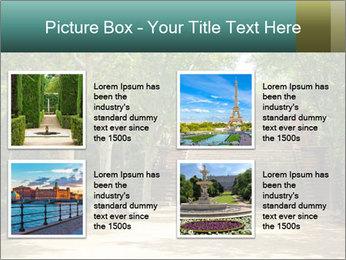 Urban Green Park PowerPoint Templates - Slide 14