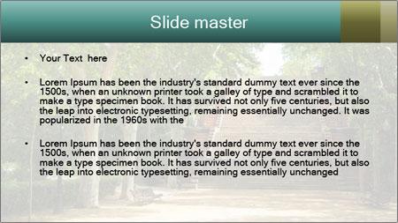 Urban Green Park PowerPoint Template - Slide 2