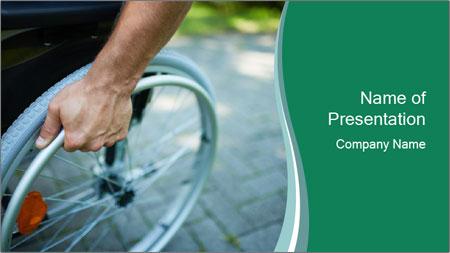 New Wheelchair PowerPoint Template