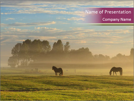 Holland Landscape PowerPoint Templates