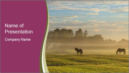 Holland Landscape PowerPoint Template
