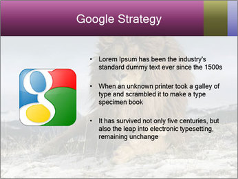 Lonely Lion PowerPoint Template - Slide 10