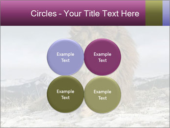 Lonely Lion PowerPoint Template - Slide 38