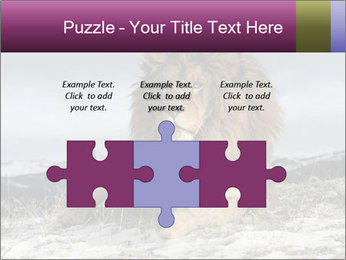 Lonely Lion PowerPoint Template - Slide 42