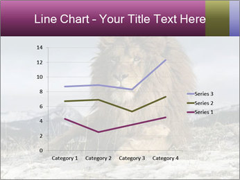 Lonely Lion PowerPoint Template - Slide 54
