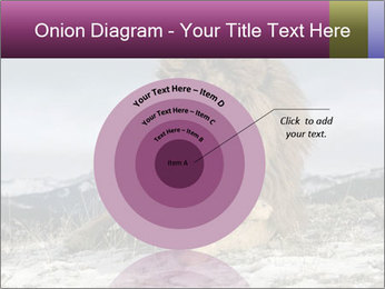 Lonely Lion PowerPoint Template - Slide 61