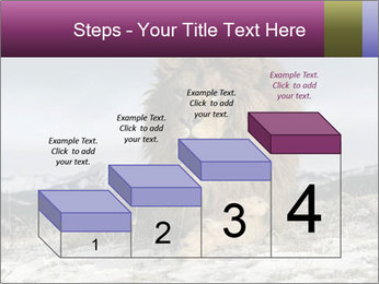Lonely Lion PowerPoint Template - Slide 64