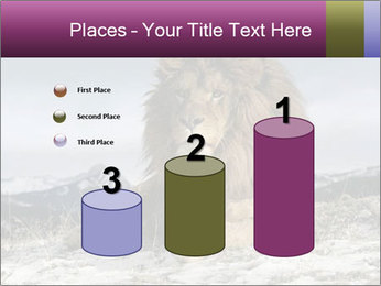 Lonely Lion PowerPoint Templates - Slide 65