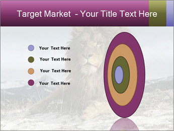 Lonely Lion PowerPoint Templates - Slide 84