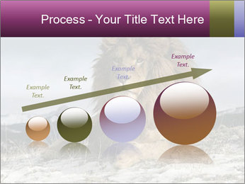 Lonely Lion PowerPoint Template - Slide 87