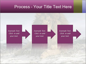 Lonely Lion PowerPoint Templates - Slide 88