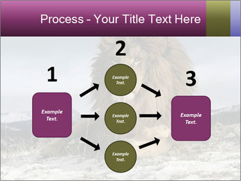 Lonely Lion PowerPoint Templates - Slide 92