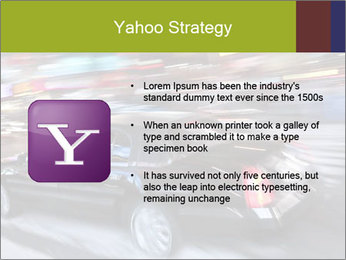 Speedy Black Car PowerPoint Template - Slide 11