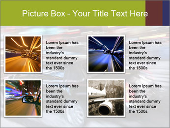 Speedy Black Car PowerPoint Template - Slide 14