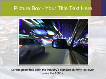 Speedy Black Car PowerPoint Template - Slide 15