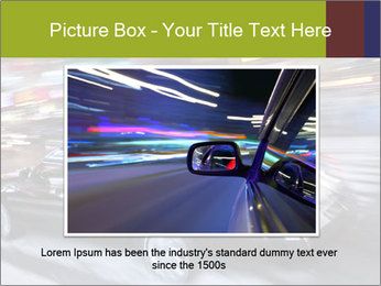Speedy Black Car PowerPoint Template - Slide 16
