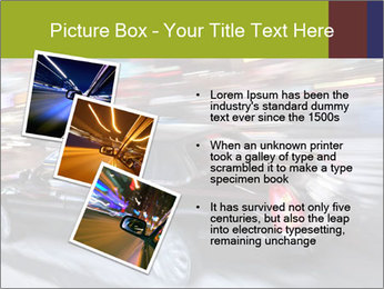 Speedy Black Car PowerPoint Template - Slide 17