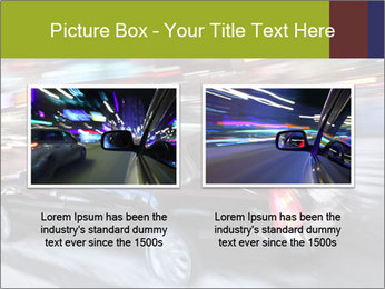 Speedy Black Car PowerPoint Template - Slide 18