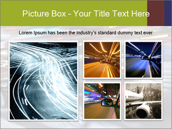 Speedy Black Car PowerPoint Template - Slide 19