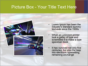 Speedy Black Car PowerPoint Template - Slide 20
