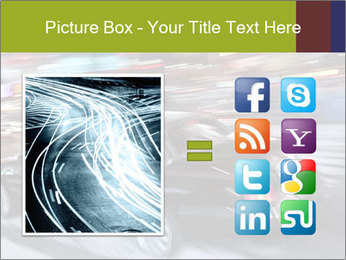 Speedy Black Car PowerPoint Template - Slide 21