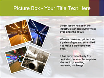 Speedy Black Car PowerPoint Template - Slide 23