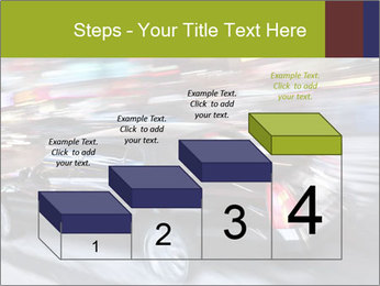 Speedy Black Car PowerPoint Template - Slide 64