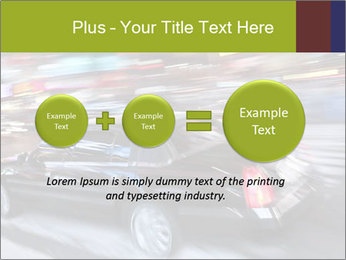 Speedy Black Car PowerPoint Template - Slide 75
