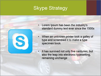 Speedy Black Car PowerPoint Template - Slide 8