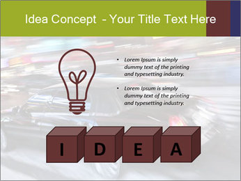 Speedy Black Car PowerPoint Template - Slide 80