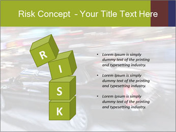 Speedy Black Car PowerPoint Template - Slide 81
