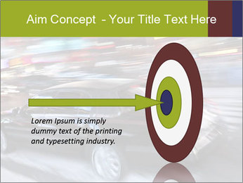 Speedy Black Car PowerPoint Template - Slide 83