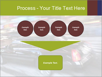 Speedy Black Car PowerPoint Template - Slide 93