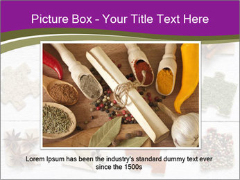 Spices Puzzle PowerPoint Template - Slide 15