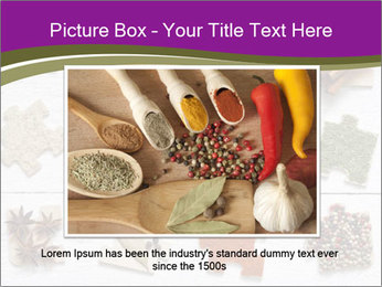 Spices Puzzle PowerPoint Template - Slide 16