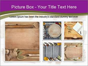 Spices Puzzle PowerPoint Template - Slide 19