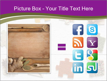 Spices Puzzle PowerPoint Template - Slide 21