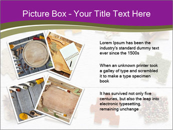 Spices Puzzle PowerPoint Template - Slide 23