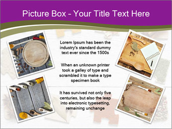 Spices Puzzle PowerPoint Template - Slide 24