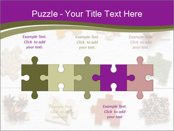 Spices Puzzle PowerPoint Template - Slide 41