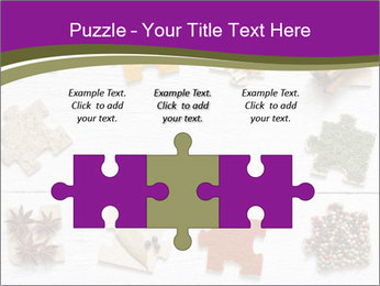 Spices Puzzle PowerPoint Template - Slide 42