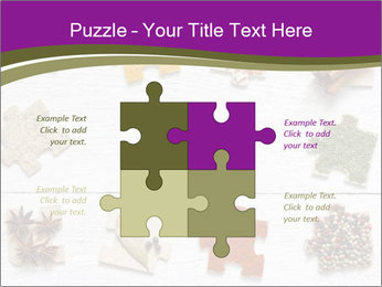 Spices Puzzle PowerPoint Template - Slide 43