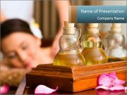 Aroma Oil Massage PowerPoint Templates