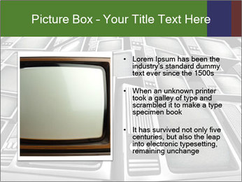 Pile Of Old Monitors PowerPoint Template - Slide 13