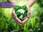 Take Care About Earth PowerPoint Templates