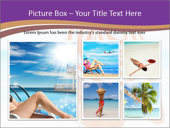 Woman In Red-White Hat PowerPoint Templates - Slide 19