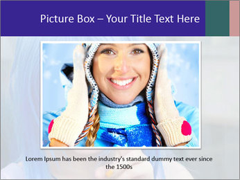 Girl With Blue Hair PowerPoint Template - Slide 16